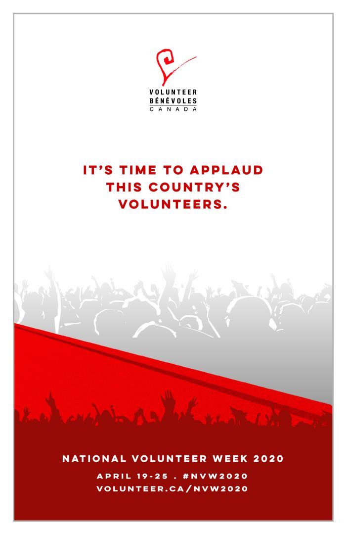 Poster National Volunteer Week 2020