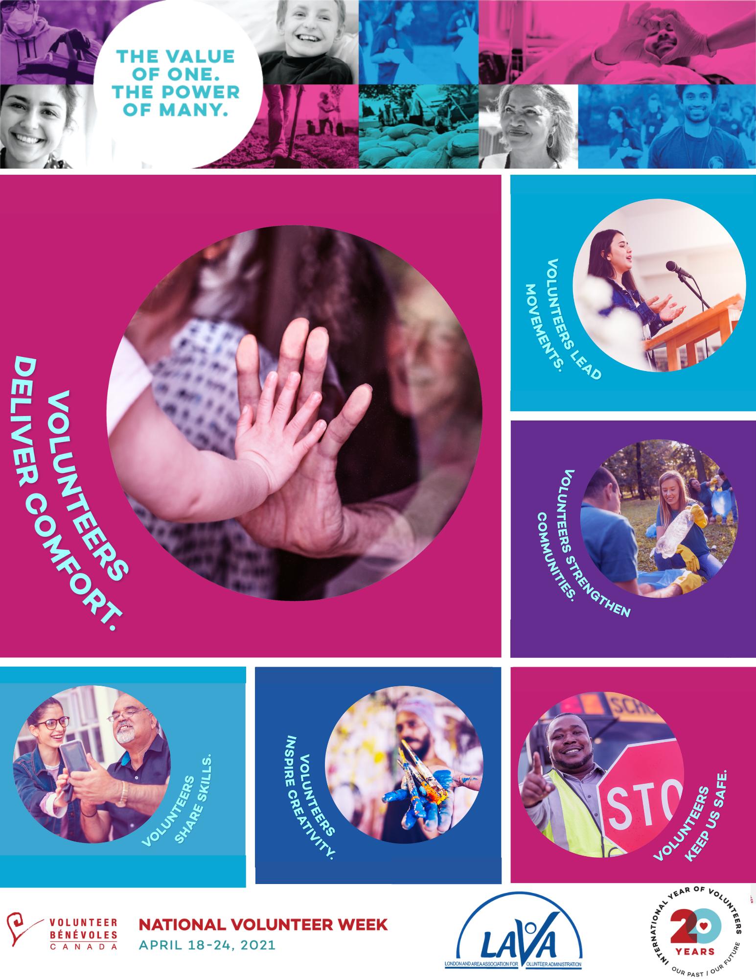 cover page of LAVA's e-zine